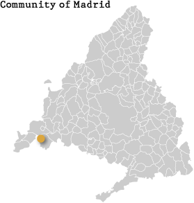 Map of the Community of Madrid