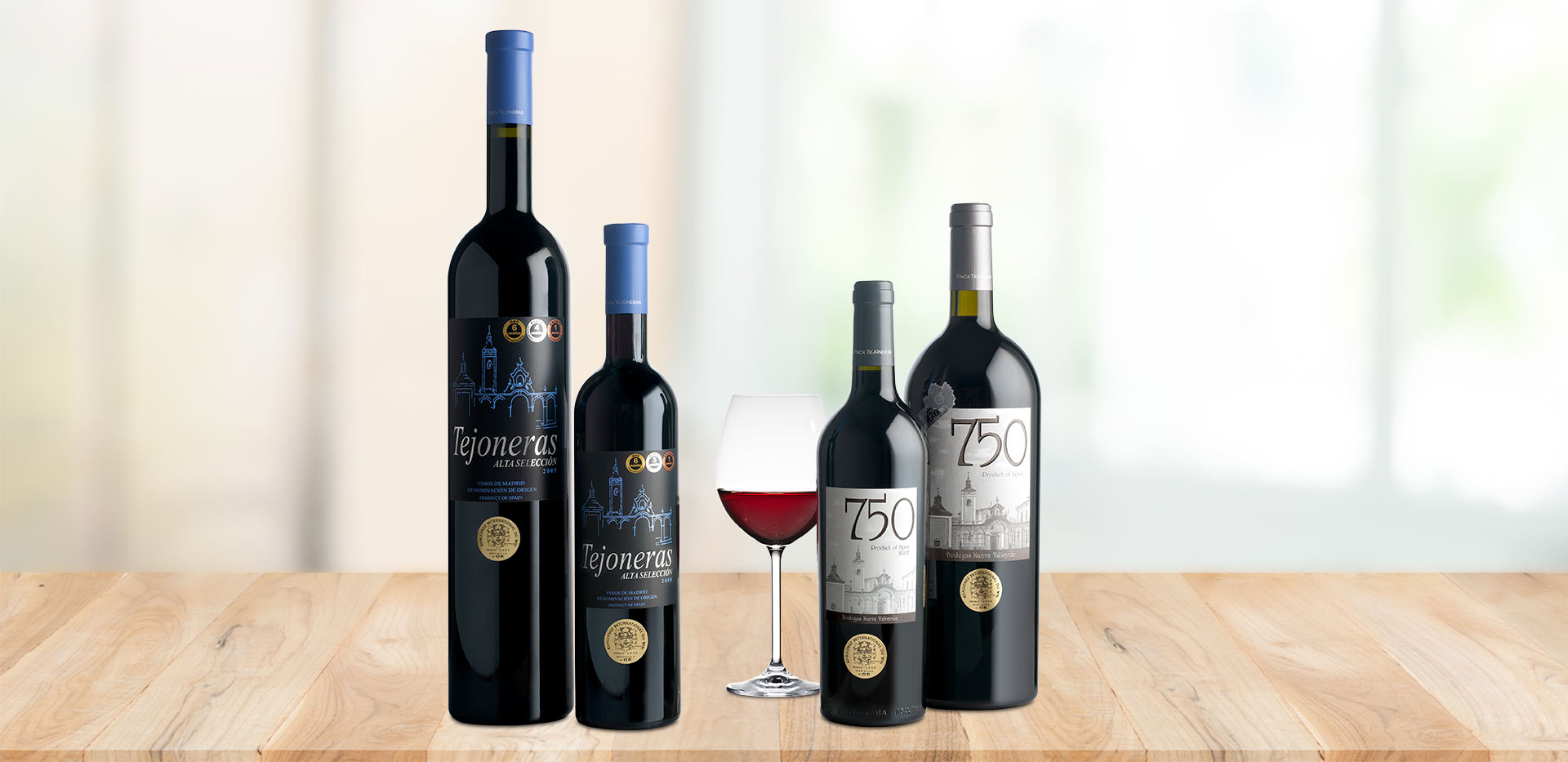 Wines from Nueva Valverde Winery